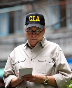 Author photo 1 CIA Hat