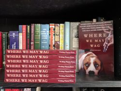 book launch for Where We May Wag